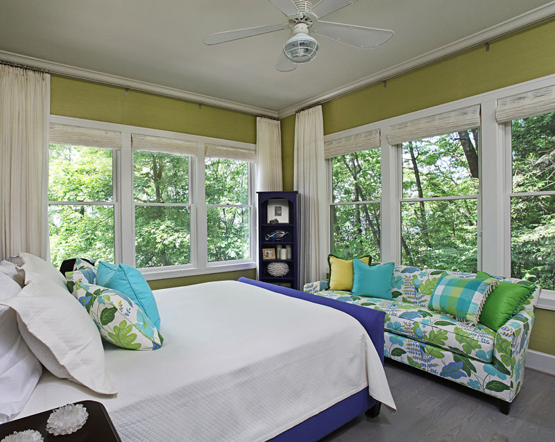 Michigan Lake House Guest Bedroom. Lake House   Sanctuaries  The Bedrooms and Baths   Urso Designs  Inc