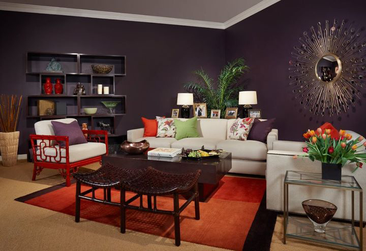 Sophisticated Living Room For A Young Urban Couple. Sophisticated Living  Room ...